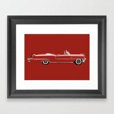 1956 CADILLAC Framed Art Print