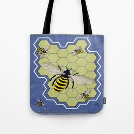 Honeycombs Tote Bag