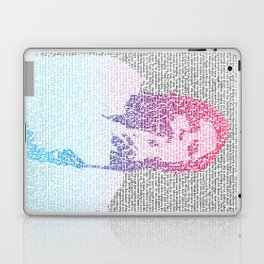 Badlands Lyrics (Gradient) Laptop & iPad Skin