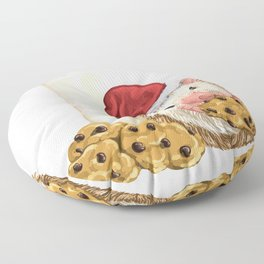 Christmas Cookie Hog Floor Pillow