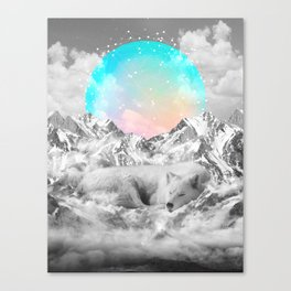 Put Your Thoughts To Sleep Canvas Print