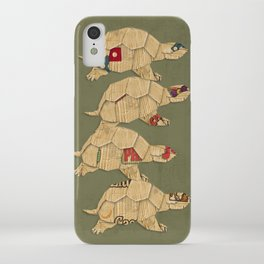 Heroes in a pizza box... Turtle Power! iPhone Case
