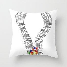 Game 8 Throw Pillow