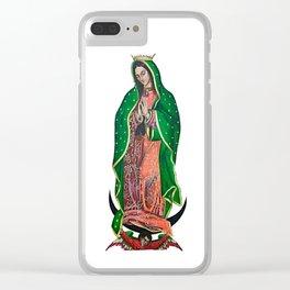 La Virgen de Guadalupe Clear iPhone Case