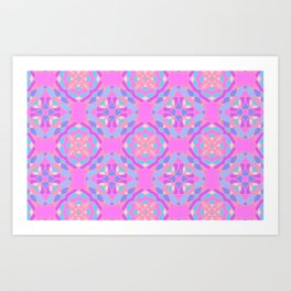 Love Geometric Art Print