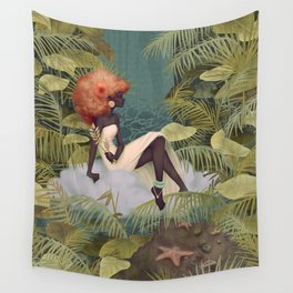 Tranquil Reflections Wall Tapestry