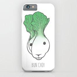 Bun Choy iPhone Case