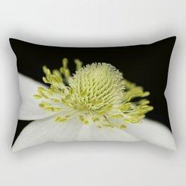 SnowDrop Macro Rectangular Pillow