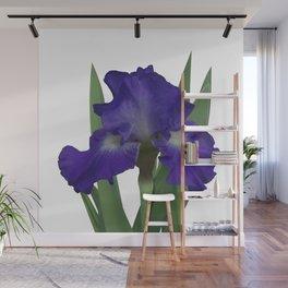 Stellar Lights, Deep blue-violet Iris Wall Mural