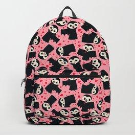Vampire Bite Pink Backpack