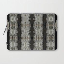 Oak Tree Bark Vertical Pattern by Debra Cortese Designs Laptop Sleeve