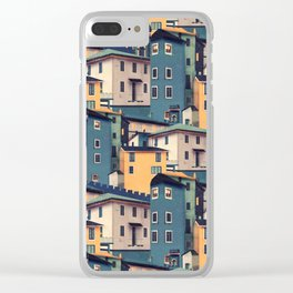 Night Castles (Pattern) Clear iPhone Case