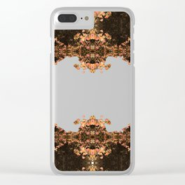 Fall Foliage Photographic Pattern #2 Clear iPhone Case