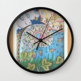 The Changing Wall Clock