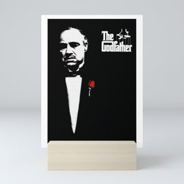 The Godfather Movie Artwork for Prints Posters Tshirts Men Women and Kids Mini Art Print