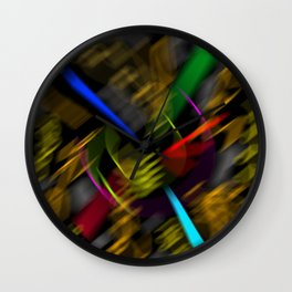 Flying universe Wall Clock