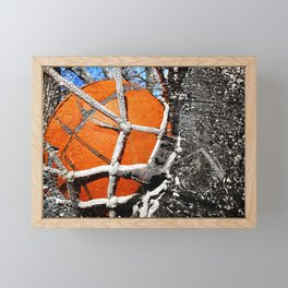 Basketball vs vx 1 Framed Mini Art Print