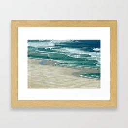 southafrica ... de strandloper Framed Art Print