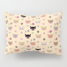 I Sure Do Like Kitties Pillow Sham