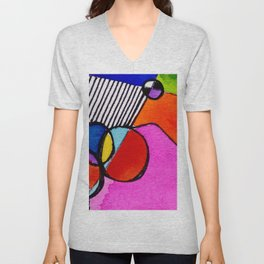 Magical Thinking 7A6 by Kathy Morton Stanion Unisex V-Neck