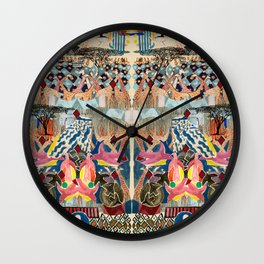 Kenya Collage Wall Clock
