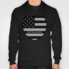 United States of America Shield  Hoody