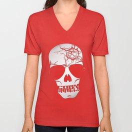 Cory Daniels Skull Unisex V-Neck