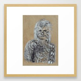 Chewbacca Framed Art Print