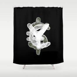 YES to CASH Shower Curtain