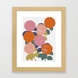 Flowers In Full Bloom Framed Art Print