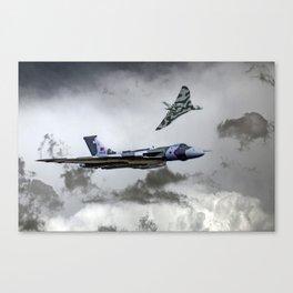 Vulcan Wingman Canvas Print