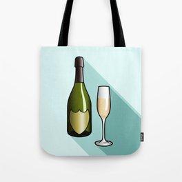 Champagne Tote Bag