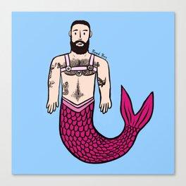 Beard Boy: Adam Merman Canvas Print