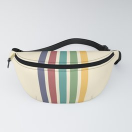 Rainbow Stripes IV Fanny Pack