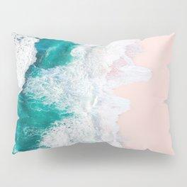 Pink Sand Beach Pillow Sham