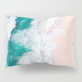 Pink Sand Beach Pillow Sham