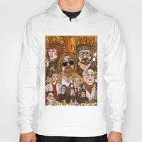 big lebowski Hoodies featuring The Big Lebowski by David Amblard