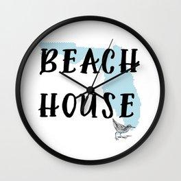 Beach House Decor Wall Clock