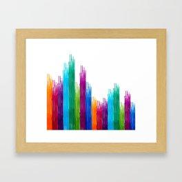 colorpen strikes Framed Art Print