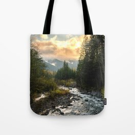 The Sandy River I - nature photography Tote Bag