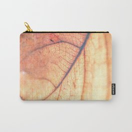 Abstract Leaf 3 Carry-All Pouch