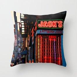 Jack's Throw Pillow