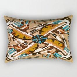Indian Windmill design Rectangular Pillow