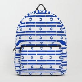 flag of israel 13-יִשְׂרָאֵל ,israeli,Herzl,Jerusalem,Hebrew,Judaism,jew,David,Salomon. Backpack