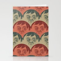 it crowd Stationery Cards featuring CROWD by Renato Klieger Gennari