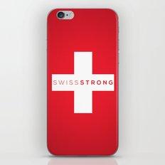 Swiss Strong iPhone & iPod Skin