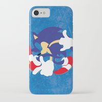 sonic iPhone & iPod Cases featuring Sonic by JHTY