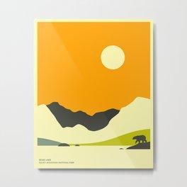 ROCKY MOUNTAIN NATIONAL PARK, BEAR LAKE Metal Print