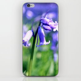 drowning in the bluebell sea iPhone Skin