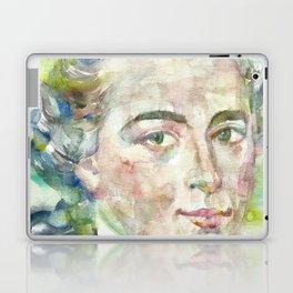 IMMANUEL KANT - watercolor portrait Laptop & iPad Skin